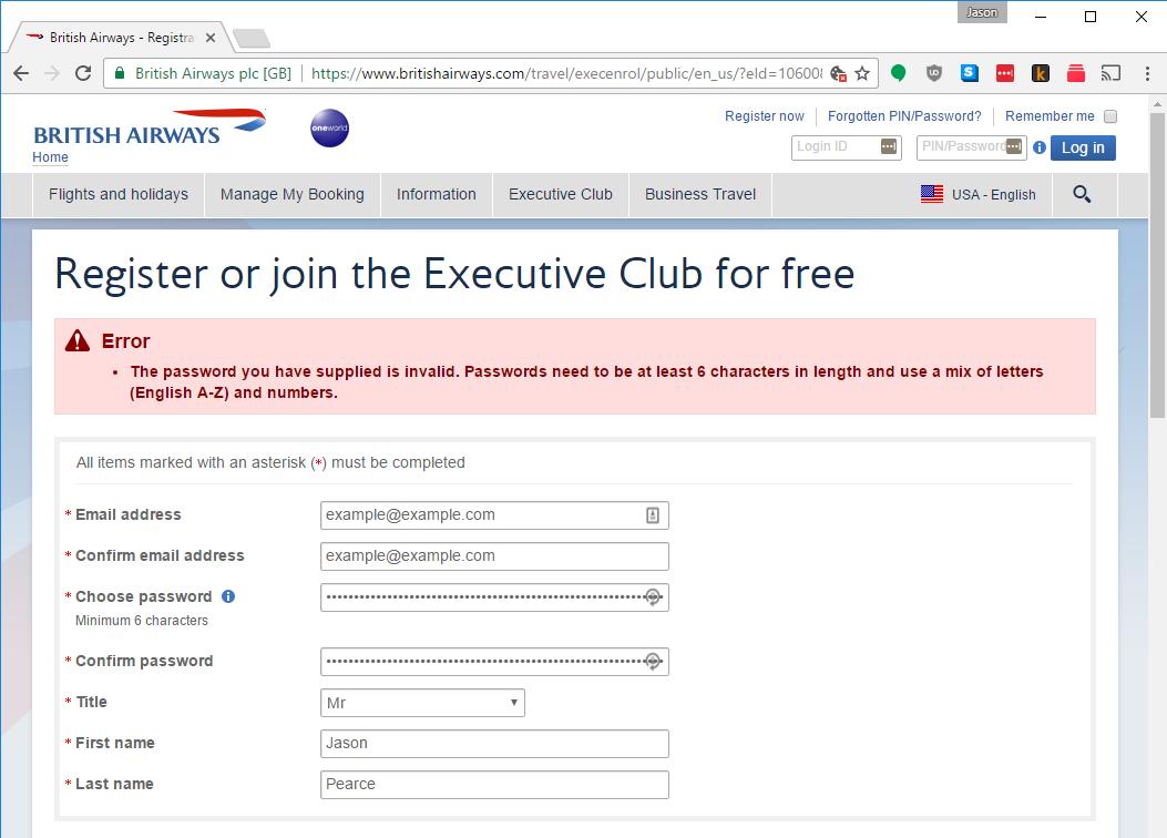 british-airways-password-invalid