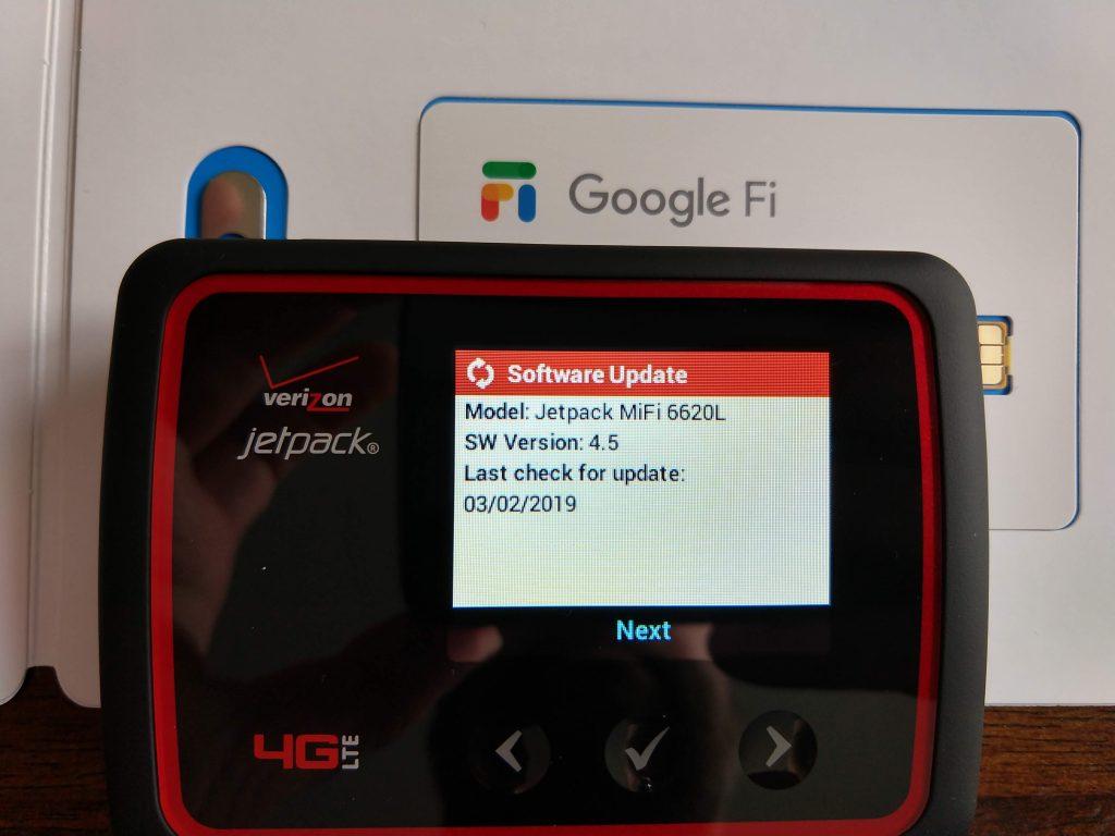 How To Use Google Fi Data Sim On A Verizon Jetpack Mifi Jason Pearce